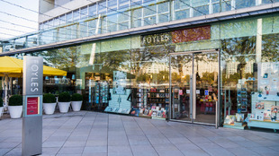 Exterior view of Foyles Bookshop at the Southbank Centre